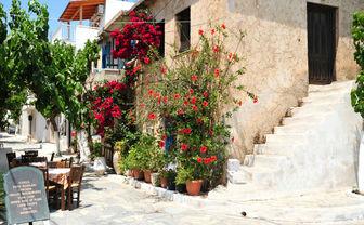 Typical village scene in Mitros