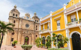 Beautiful church in Cartagena