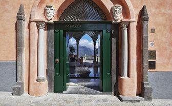 Hotel entrance door