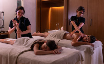 ESPA angels massage treatment