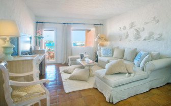 The deluxe suite at Hotel Cervo
