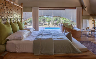 Chena Huts bedroom