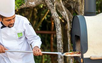 Chena Huts pizza oven