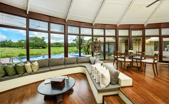 Nikawewa villa living room