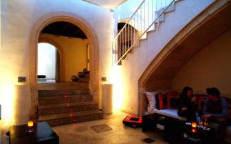 Lounge area at Puro hotel