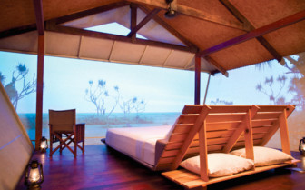 Safari Bungalow bedroom