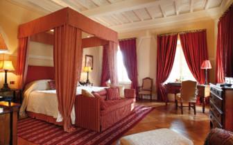 Suite at Castiglion del Bosco, luxury hotel in italy