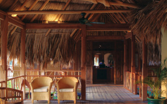 Picture of a Suite Deck at Turtle Inn