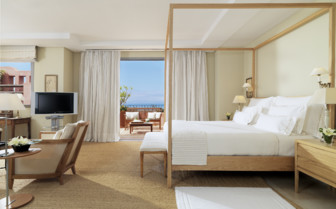 The presidential suite at Abama hotel, luxury hotel in Spain