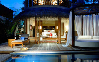The exterior at W Retreat & Spa Maldives