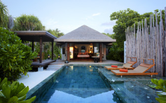 Pool villa at Anantara Kihavah