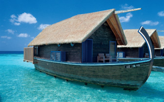 Boat Suite at Cocoa island, luxury hotel in the Maldives
