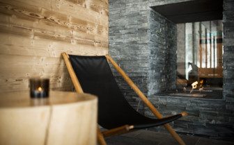 Interior detail at Copperhill Mountain Lodge, luxury hotel in Sweden