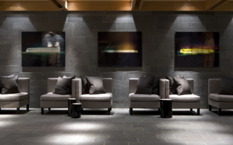 Lounge area at Copperhill Mountain Hotel, luxury hotel in Sweden