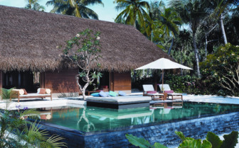 The Pool at Reethi Rah hotel