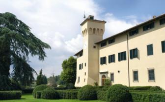 Exterior at Castello Del Nero, luxury hotel in Italy