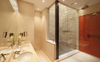 Bathroom at Corral Del Rey, luxury hotel in Spain