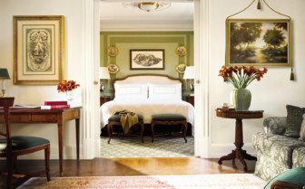 Executive suite room at Four Seasons hotel Florence