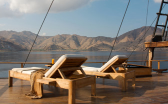 Picture of Relaxing aboard the Silolona
