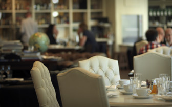 Dining at Lydmar Hotel