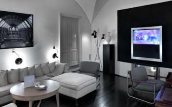 TV lounge at JK Place