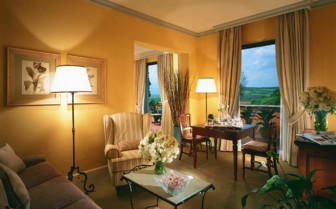 Suite at The Fonteverde Hotel & Spa, luxury hotel in Italy
