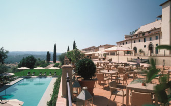 View of Pool and Terrace