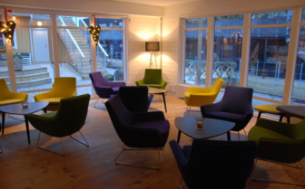 The lounge at Salt & Sill hotel