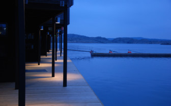 The exterior at Salt & Sill, luxury hotel in Sweden