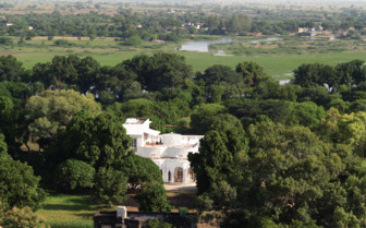 Aerila View of Shapura Bagh hotel