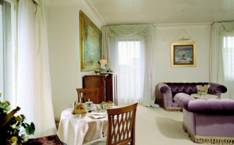 The residential suite at Bauer Il Palazzo, luxury hotel in Italy