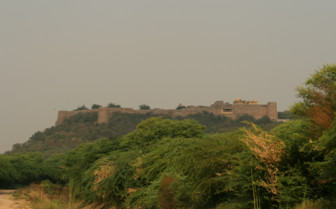 Exterior at Ramathra Fort, luxury tents in India