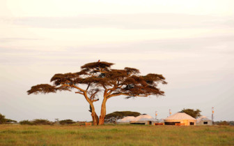 The camp exterior at Nduaro Loliondo