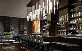 The hotel bar at St. Regis San Francisco hotel
