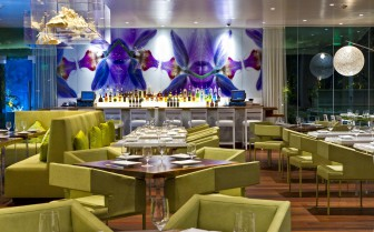 Dining at The Modern Honolulu, luxury hotel in Hawaii