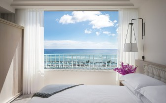 The ocean front suite at The Modern Honolulu