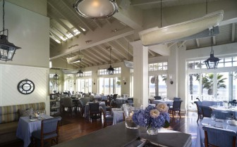 Dining room at Shutter on the Beach hotel