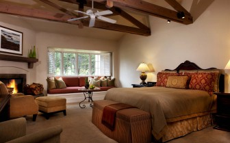 Large suite at Pebble Beach Resort, luxury hotel in Big Sur