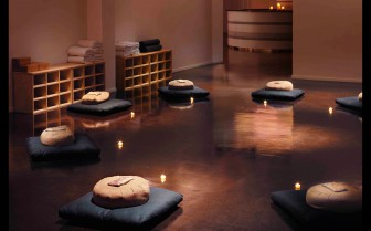 Yoga room at The Standard, luxury hotel in Miami