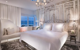 Luxury suite at SLS South Beach