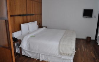Bedroom at The Condesa hotel