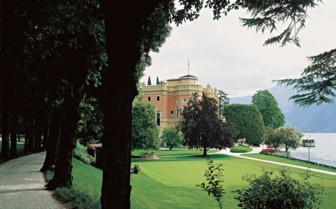 View of Villa Feltrinelli, luxury hotel in Italy