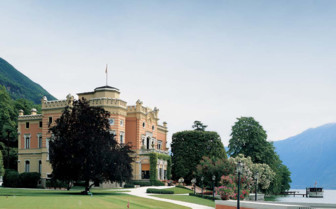 View of Villa Feltrinelli hotel