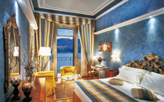 Lake view room with balcony at Grand Hotel Tremezzo