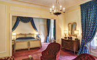 The junior suite at Villa D'Este, luxury hotel in Italy