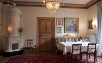 Dining room at Villa Sjotorp