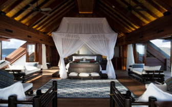Picture of Master Bedroom, Great House, Necker Island