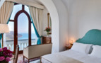 Suite at Palazzo Avino, luxury hotel in Italy