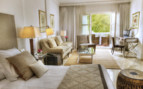 The junior suite at Hotel Puente Romano, luxury hotel in Spain