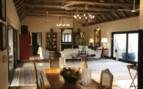 The bedroom interior at Royal Malewane